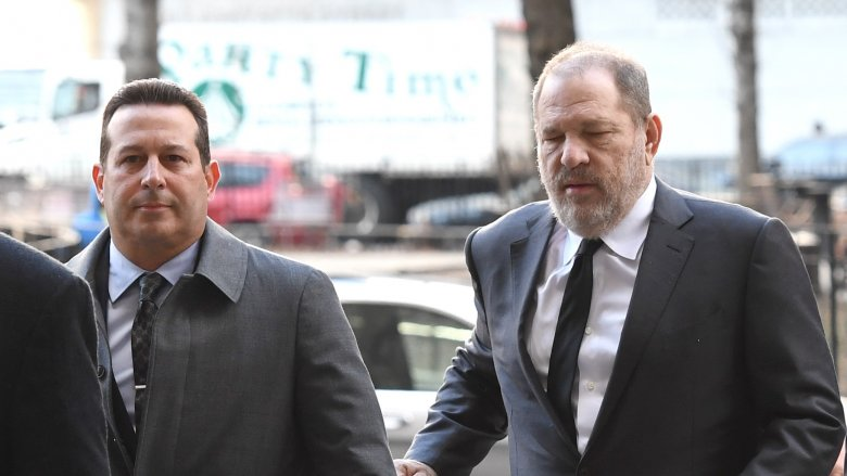 Jose Baez and Harvey Weinstein