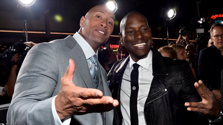 What really went down between The Rock and Tyrese
