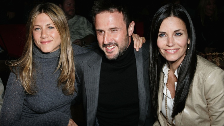 Jennifer Aniston, David Arquette, Courteney Cox