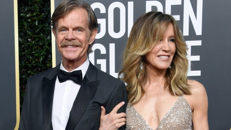 Felicty Huffman and William H. Macy
