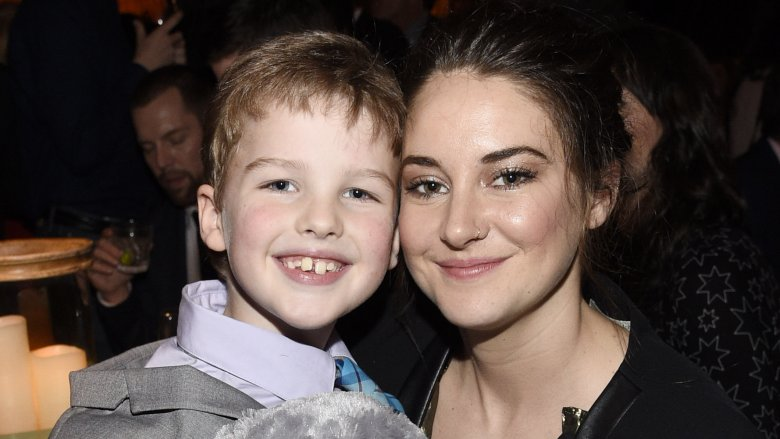 Iain Armitage and Shailene Woodley