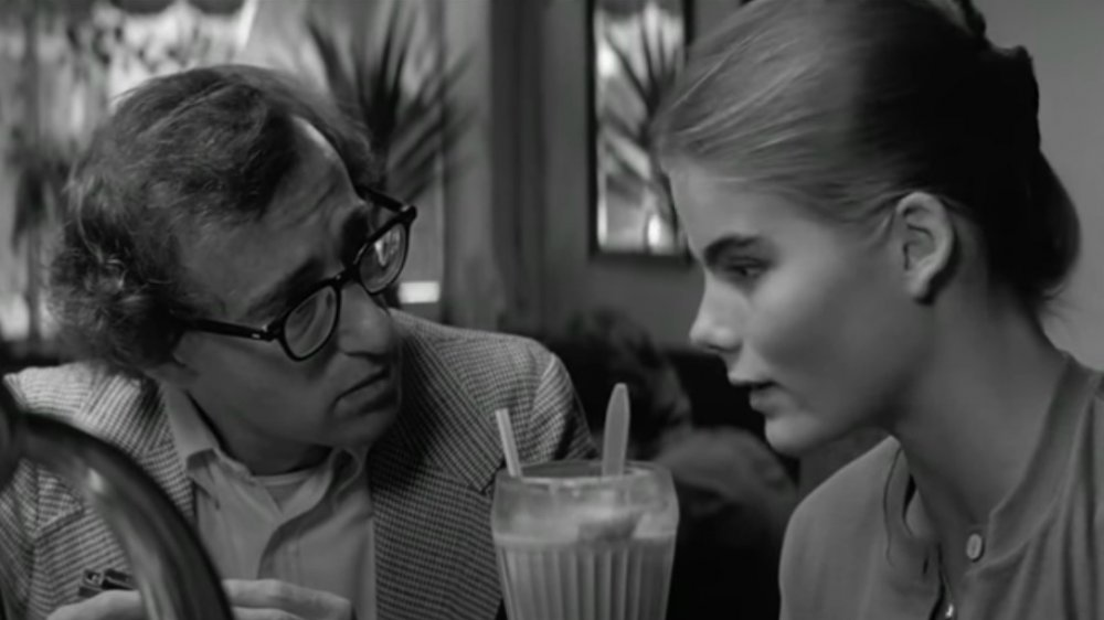Woody Allen and Mariel Hemingway in a scene from Manhattan