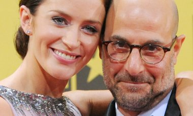 Emily Blunt Stanley Tucci