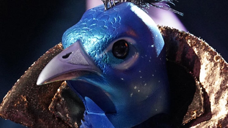 The Peacock From Masked Singer Accidentally Revealed