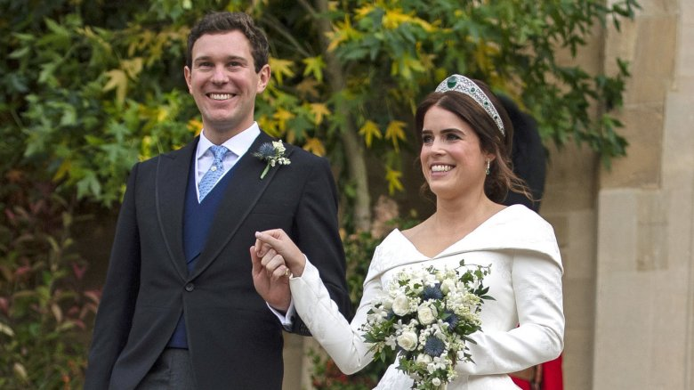 Princess Eugenie and Jack Brooksbank marry in royal wedding